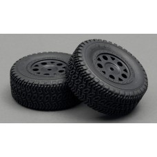LC Racing Short Course Tire Set