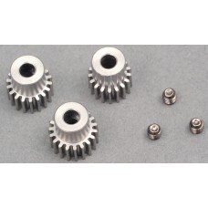 LC Racing Motor Gear Set (17T, 18T & 19T)