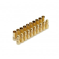 Hobby Details 3.5mm Gold Plated Bullet Conector