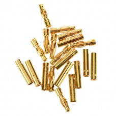 Hobby Details 4mm Gold Plated Bullet Connectors