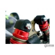 LC Racing EMB Buggy T Bone Racing Racer2 Shock Caps - 57509