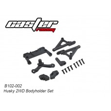 Caster Racing B102-002 Husky 2WD Body Holder Set