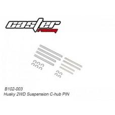 Caster Racing B102-003 Husky 2WD Suspension C-hub PIN