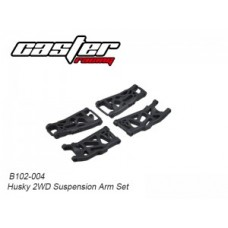 Caster Racing B102-004 Husky 2WD Suspension Arm Set