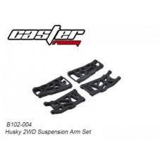 Caster Racing B102-004 Husky 2WD Suspension Arm Set