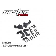 Caster Racing B102-007 Husky 2WD Front Hub Set