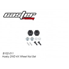 Caster Racing B102-011 Husky 2WD 4X Wheel Nut Set