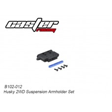 Caster Racing B102-012 Husky 2WD Suspension Armholder Set