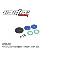 Caster Racing B102-017 Husky 2WD Maingear Slipper Clutch Set