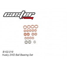 Caster Racing B102-019 Husky 2WD Bushing Set