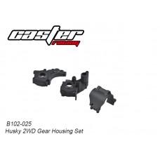 Caster Racing B102-025 Husky 2WD Gear Housing Set