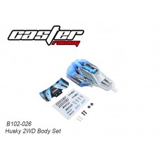 Caster Racing B102-026 Husky 2WD Body Set