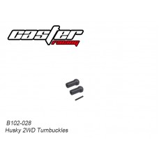 Caster Racing B102-028 Husky 2WD Turnbuckles