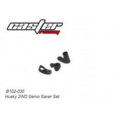 Caster Racing B102-030 Husky 2WD Servo Saver Set