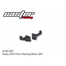 Caster Racing B102-038 Husky 2WD Front Steering Block L&R