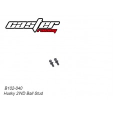 Caster Racing B102-040 Husky 2WD Ball Stud