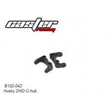Caster Racing B102-042 Husky 2WD C-Hub