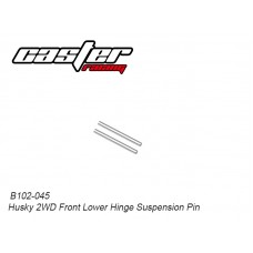 Caster Racing B102-045 Husky 2WD Front Lower Hinge Suspension Pin