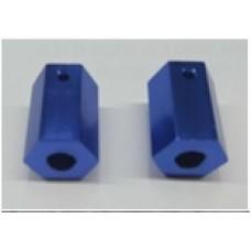 BFX-V1-017 2WD Wheel Hex Adapter Blue