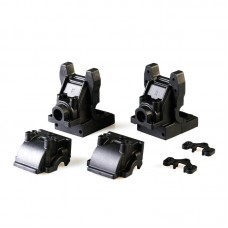 C7038 LC Racing 1/10 Front and Rear Gearbox Set (with sway bar holder)