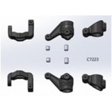 C8002 LC Racing 1/10 PTG-2 Steering Block,C-Hub&Upright SET(PTG-2)
