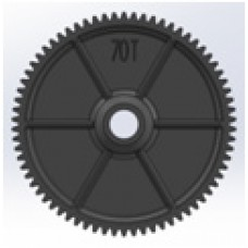 C8019 LC Racing PTG2 Spur Gear 48p 70T