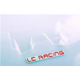 LC Racing 1/14 Buggy Rear Wing Clear L6090