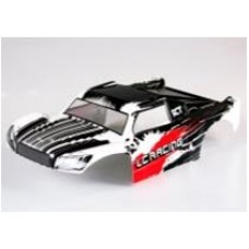 LC Racing 1/14 SC Body (PC) Black/Red