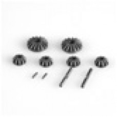 L6199 LC Racing 1/14 Steel Bevel Gear and Satellite Gears