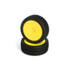 L6250 All Terrain Buggy Pre-Mounted Front tires (Yellow 2pcs)