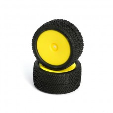L6251 All Terrain Buggy Pre-Mounted Rear tires (Yellow 2)