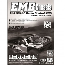 LC Racing 1/14 EMB-SCH Short Course Truck  Manual