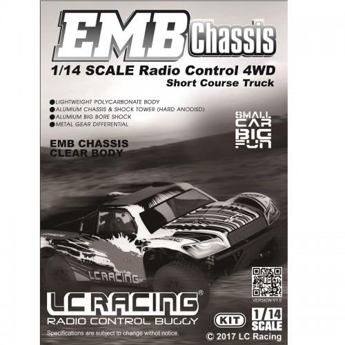 LC Racing 1/14 EMB-SCH Short Course Truck Manual