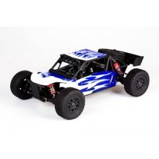 LC Racing EMB-DTH 1/14 Brushless Desert Truck RTR (Blue Body/White Wheels)