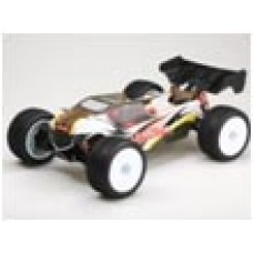 LC Racing EMB-TGH 1/14 Racing Truggy RTR (Clear Body)