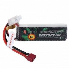 L6044 LC Racing Lipo Battery