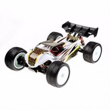 LC Racing EMB-TGH 1/14 Racing Truggy (Clear Body)
