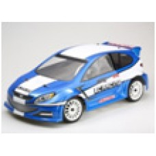 LC Racing EMB-WRCH 1/14 Racing Brushless RTR World Rally Car (Clear Body)