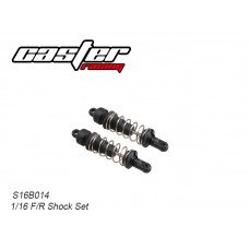 S16B014 Front & Rear Shock Set Plastic