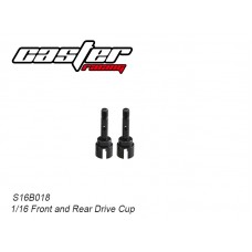 S16B018 Front & Rear Drive Cup Axle Shaft Set