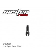 S16B031 Center Spur Gear Shaft