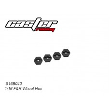 S16B040 Front & Rear Wheel Hex 12mm
