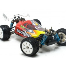 F18PRO 02 Caster Racing Full Option Alloy Mini 1/18 Buggy Pro RTR (no servo or radio) Special Order