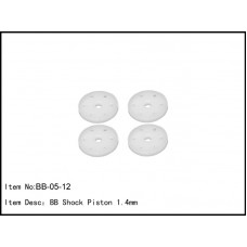 BB-05-12  BB Shock Piston 1.4mm