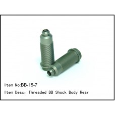 BB-15-7  Threaded BB Shock Body Rear 2pc