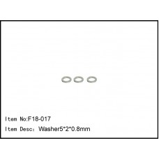 F18-017   Washer 5*2*0.8mm