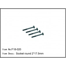 F18-020  Socket round 2*17.5mm