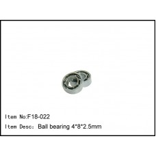F18-022  Ball bearing 4*8*2.5mm