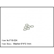 F18-024  Washer 6*4*0.1mm