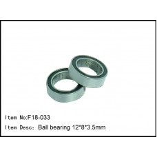 F18-033  Ball bearing 12*8*3.5mm